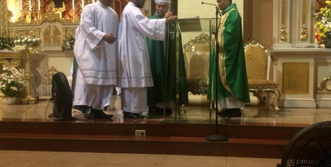 New Parish Priest of Sacred Heart Parish Kamuning